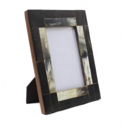 Natural Horn Photo Frame