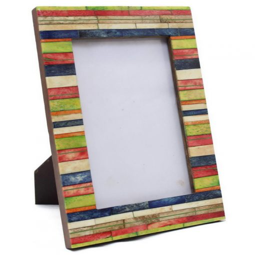 Bone Inlay Photo Frame in Multiple