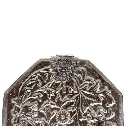 White Metal Decorative Box