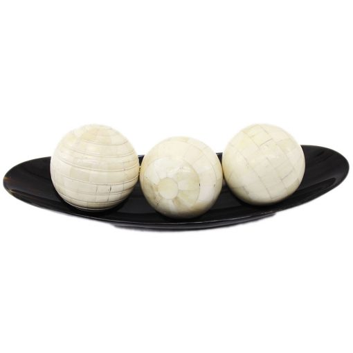 Bone Inlay Decorative Balls