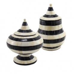 Bella Decorative Bone Jars