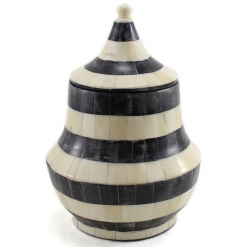 Erving Decorative Bone Jar