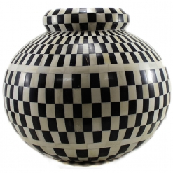 Gayle Decorative Bone Inlay Vase