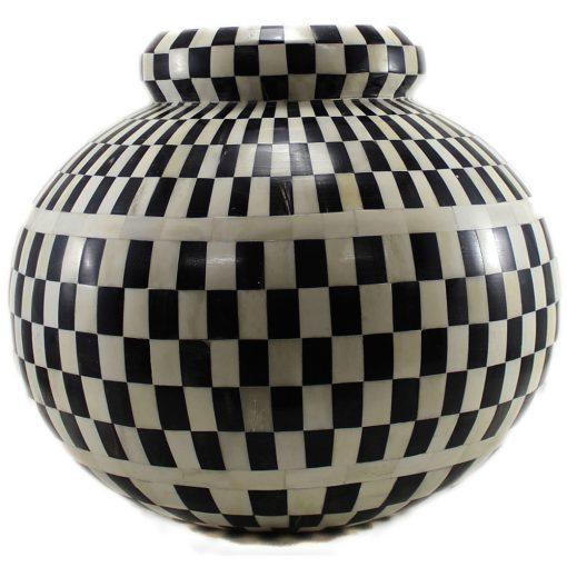 Gayle Decorative Bone Inlay Vase