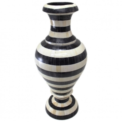 Kalista Bone Inlay Vase