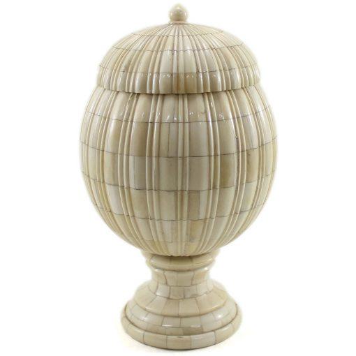 Bahi Natural Ivory Urn