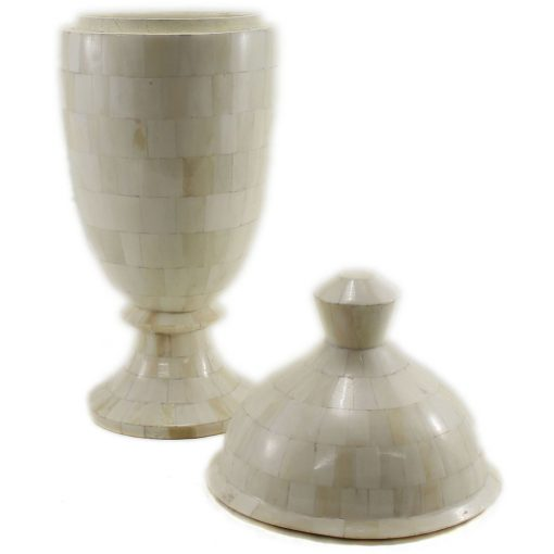Linette Natural Ivory Urn