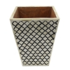 Moroccan Motif Bone Inlay Basket