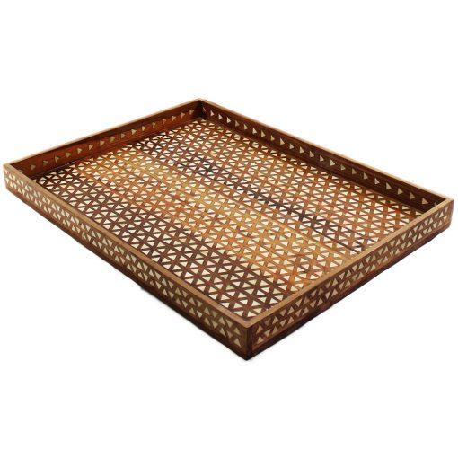 Decorative Tray, Wood Tray