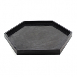 Decorative Tray, Black Tray