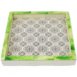 Decorative Tray, Bone Inlay Tray