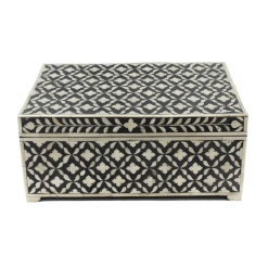 Bombay Taj Bone Inlay Decorative Box