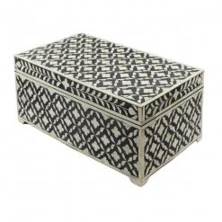 Bombay Taj Bone Inlay Decorative Box