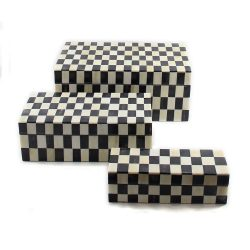 Monochrome Black Decorative Boxes