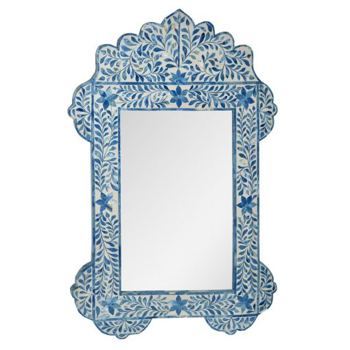 Roomattic Mehrab Blue Bone Inlay Mirror